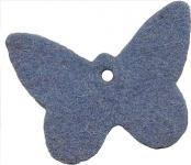 "Filzanhänger ""Schmetterling"" - 100 % Wolle"