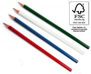 Eco Bleistift farbig, FSC®-zertifiziertes Holz