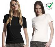 Bio T-Shirt Damen Earth Positive schwarz | Größen Mix