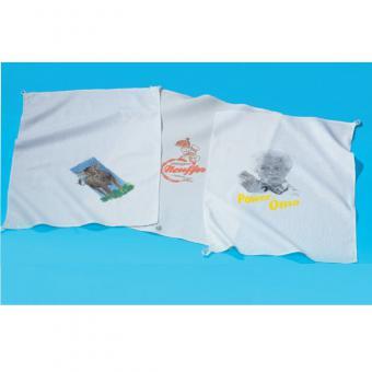 Geschirrtücher Baumwolle uni weiß