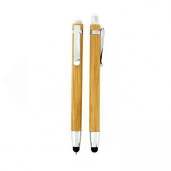 Kugelschreiber/ Touchpen Bambus