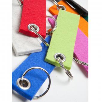 'JUST' Schlüsselband 100 % Wollfilz 9 x 3 cm