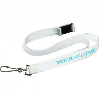 Lanyards recycelt PET 10mm inkl. 1c Druck