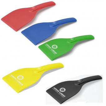 Eiskratzer ergonomisch - recycelte CD-Hüllen