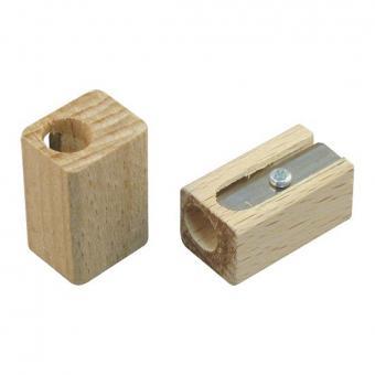 Werbeartikel Holzspitzer einfach