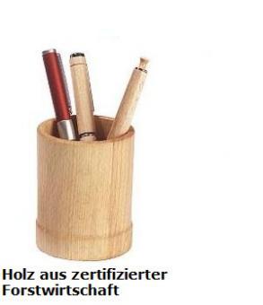 Stifteköcher - Holz aus nachhaltiger Forstwirtschaft