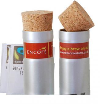 Fair Trade 'Tee' Geschenkset - mit Milch und Zucker