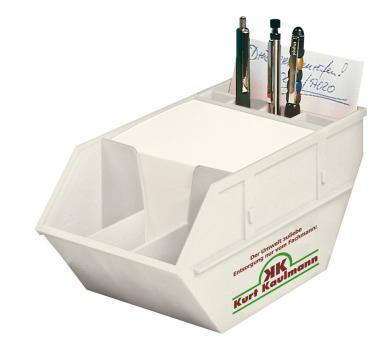 'Container' Zettelspender - Biokunststoff