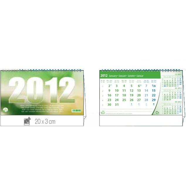 Recycling Bürokalender / Tischkalender