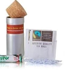 """Fair Trade """"Kaffee"""" Geschenkset - mit Milch und Zucker"""