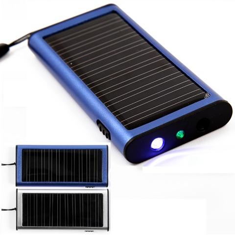 Solar - Ladegerät Slim Line