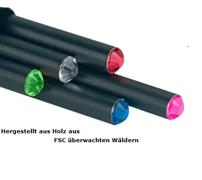 Crystal FSC Bleistift - Lindenholz zertifizierte Forstwirtschaft