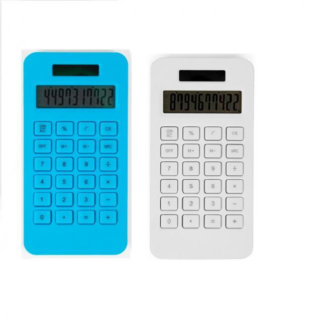 Mini Taschenrechner aus Maisstärke mit Solarantrieb