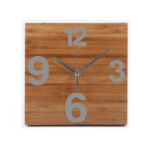 Okologisch Sinnvolle Werbeartikel Pendule Bambus Uhr