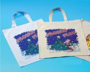 Baumwolltragetasche mit Weihnachtsmotiv