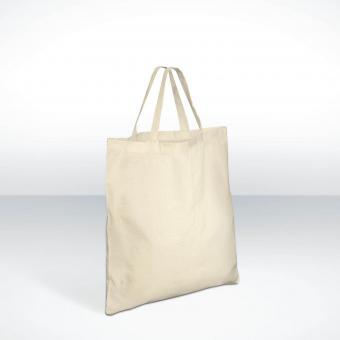 Eco Shopper - kurze Henkel Baumwolltasche