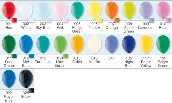 Luftballon - 100 % Naturlatex