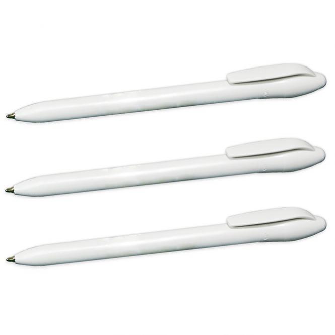YOUKO weißer Dreh-Kugelschreiber